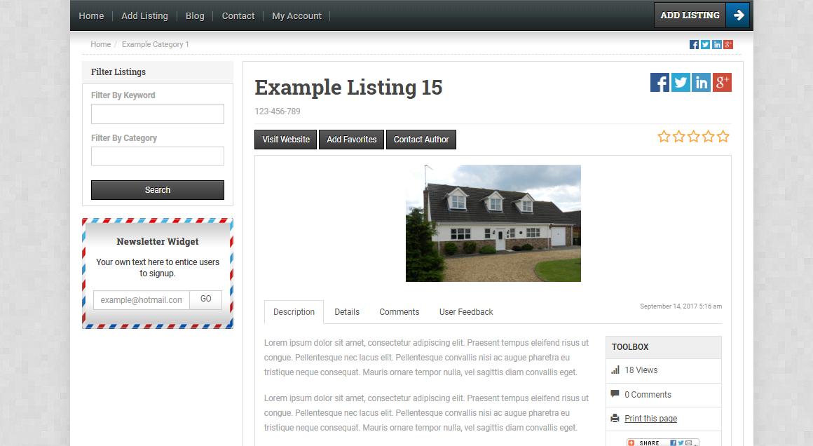 open source real estate script